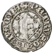 Dinero Pierre II de Urgel Barcelone – revers