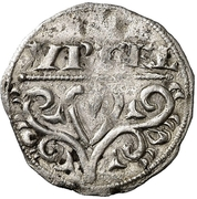Dinero Pierre II de Aragon Lérida – avers