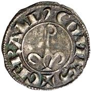 Dinero Géraud IV de Cabrera Balaguer – revers