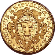1 Ducat (Trade coinage) – avers