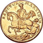 1 Ducat (Trade coinage) – revers