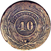 40 centesimos – revers