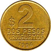 2 pesos -  revers