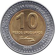 10 pesos (Artigas) -  revers
