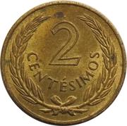 2 centesimos – revers