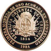 20 000 Nuevos Pesos (Gold coinage and BID Meeting) – avers