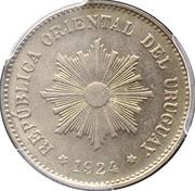 5 centesimos (Essai) – avers