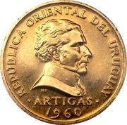 2 centesimos (José Gervasio Artigas, essai) – avers