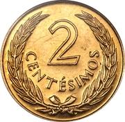 2 centesimos (José Gervasio Artigas, essai) – revers