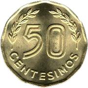 50 centesimos -  revers