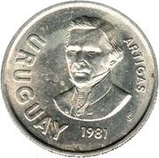10 nuevo pesos Artigas -  avers