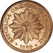 4 centesimos – avers