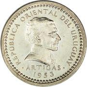 1 centesimo Artigas – avers
