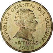 5 centesimos – avers