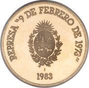 20000 Pesos (Hydroelectricity) – revers