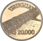 20000 Pesos (Hydroelectricity) – avers