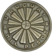 1000 pesos (FAO) – avers
