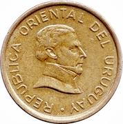 1 peso uruguayo -  avers