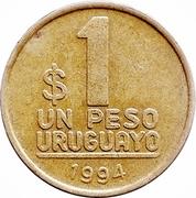 1 peso uruguayo -  revers