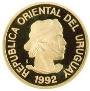 ¼ Gaucho (Gold Bullion Coinage) – avers