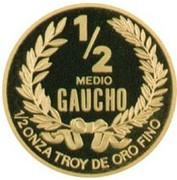 ½ Gaucho (Gold Bullion Coinage) – revers