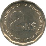 2 nuevos pesos (FAO) -  revers