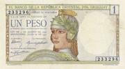1 Peso (Centennial) – avers