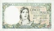 5 Pesos (Constitution Centennial) – avers