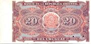 20 Centésimos (Not issued) – revers
