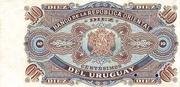 10 Centésimos (Not issued) – revers