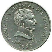 10 pesos (Essai) – avers