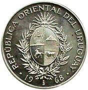 20 pesos (Essai) – avers