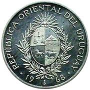 50 Pesos - Essai – avers