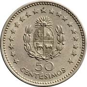 50 centesimos (Artigas) -  revers