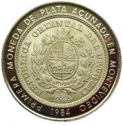 2 000 nuevos pesos (Réunion de Gobernadores del B.I.D, essai) -  avers