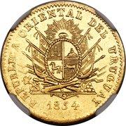 40 reales (Essai) – avers