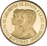 20000 Nuevos Pesos (Royal Visit) – revers