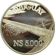 5000 Nuevos Pesos - Hydroélectricité (Essai) – revers
