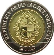 10 pesos uruguayos -  avers