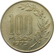 100 pesos – revers
