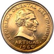 5 centesimos (José Gervasio Artigas, essai) – avers