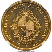 50 Pesos (Essai) – avers