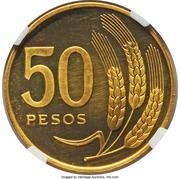 50 Pesos (Essai) – revers