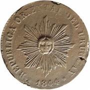 40 Centesimos (Sol de Cabellera) – avers