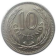 10 centesimos (Artigas) – revers