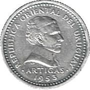 2 centesimos (Artigas) – avers