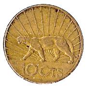 10 centesimos – revers