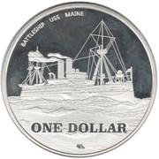 1 Dollar (Guantanamo) – revers