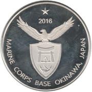1 Dollar (Okinawa) – avers