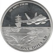 1 Dollar (Diego Garcia) – revers